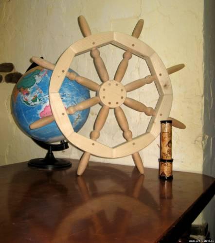 Корабельный штурвал для садика